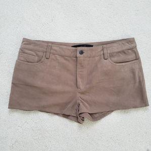 Joe's Jeans 100% Suede Shorts Sz30